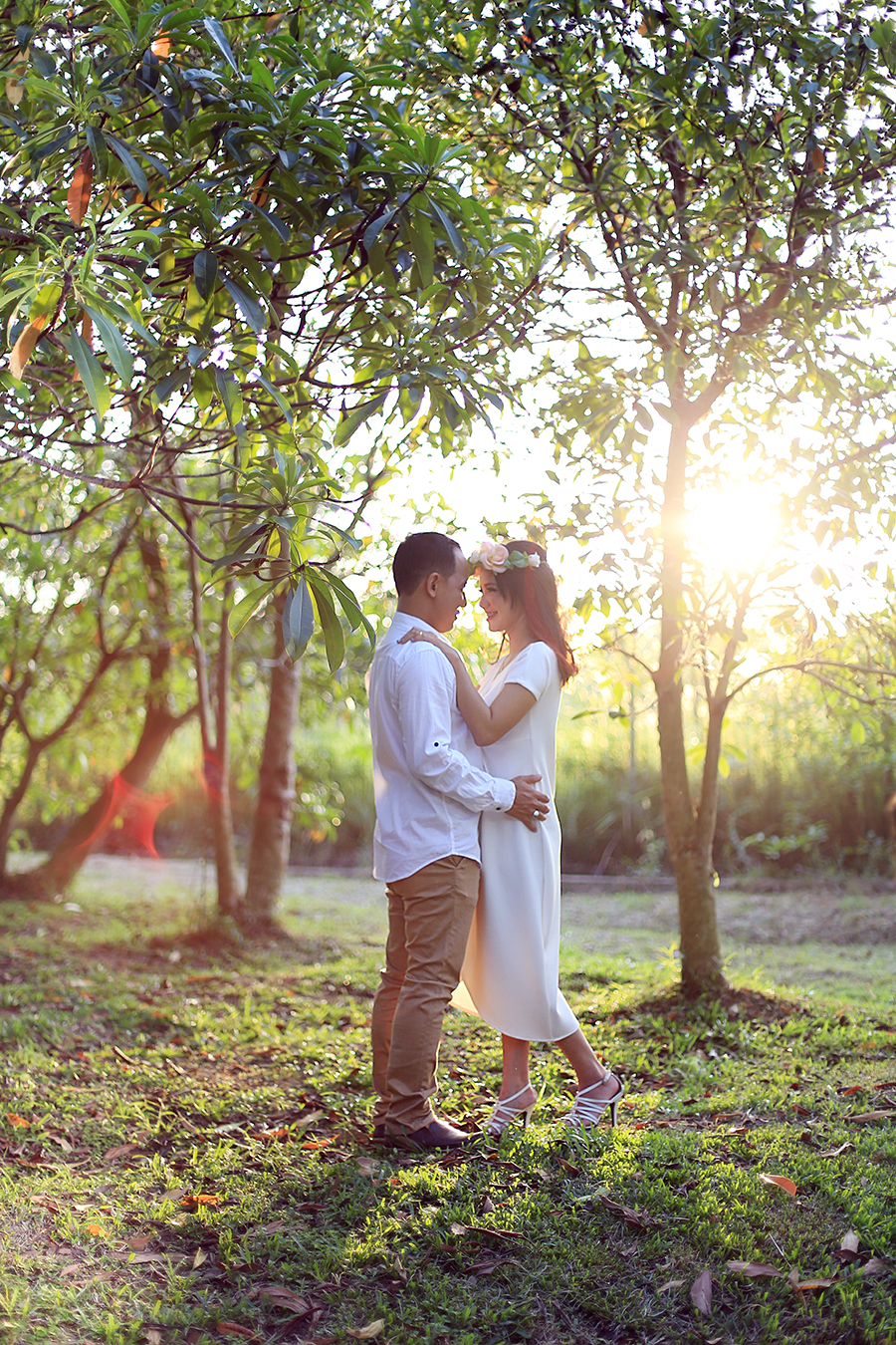 Rustic prewedding : Haris dan Tika