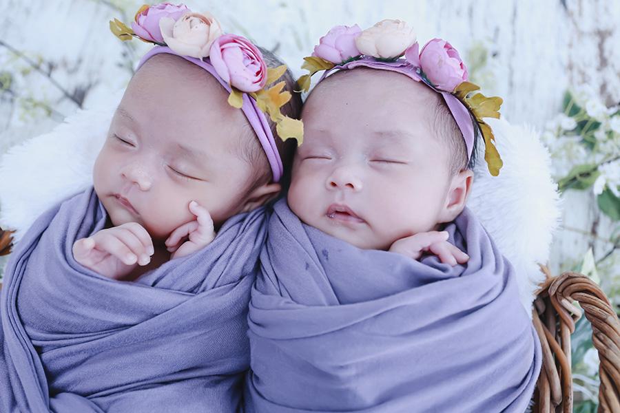 Newborn Baby Pontianak – Twins Aqila & Kaila