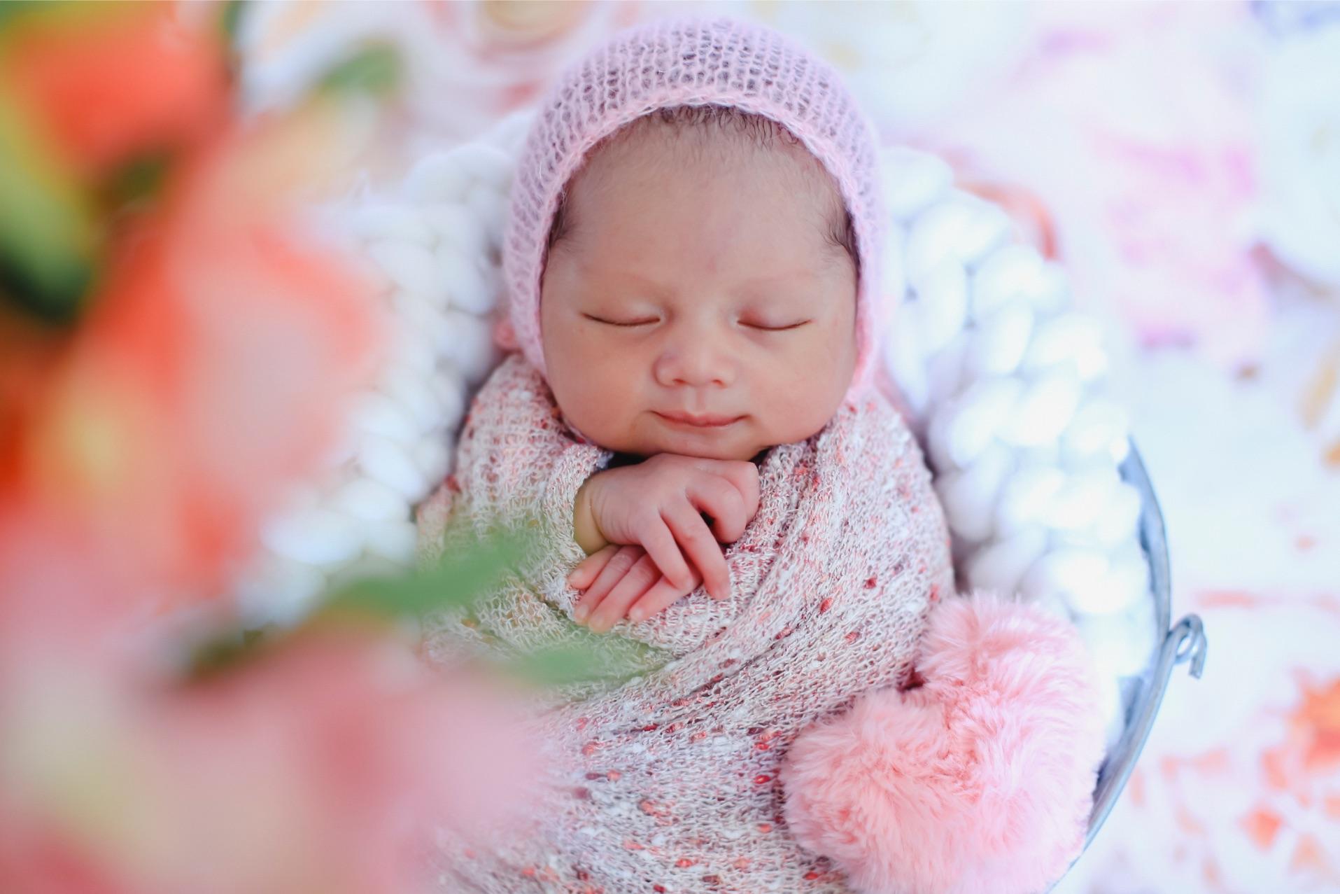 Foto Newborn Baby Pontianak : Baby Sena