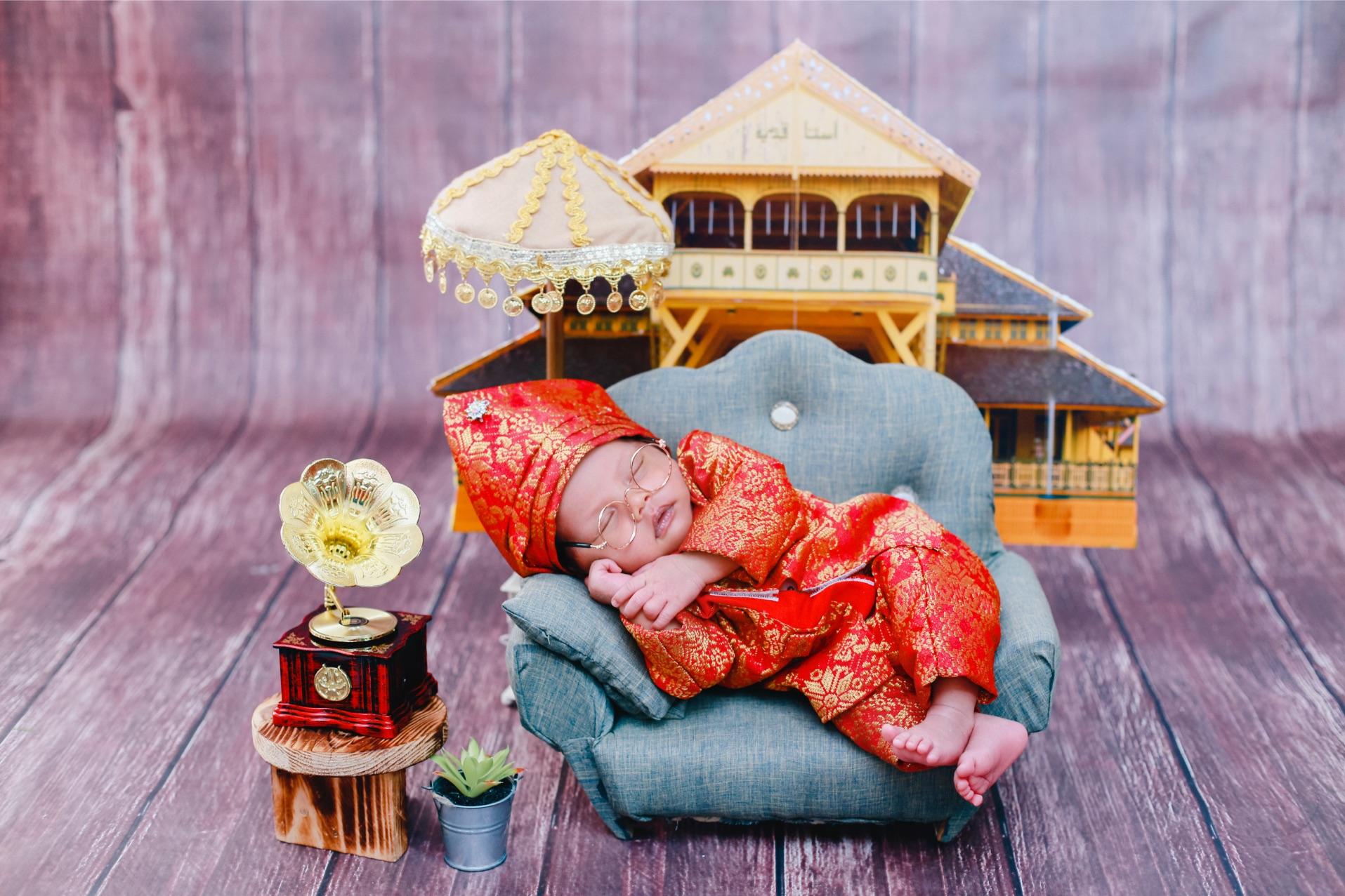 Foto Newborn Baby Pontianak : Baby Razka